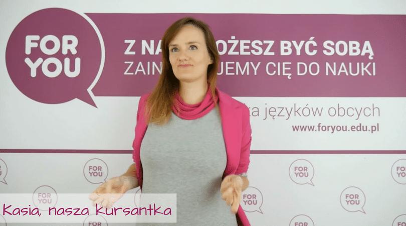 Kursantka Fory You – Kasia