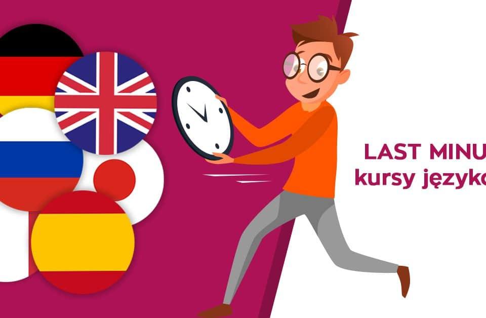 Kursy językowe last minute