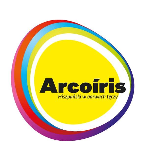 Logo Arcoiris - Hiszpański w barwach tęczy