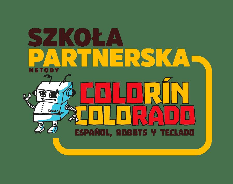 Logo szkoła partnerska metody Colorín Colorado
